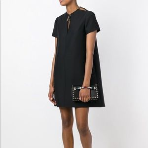 Valentino Necklace Collar Dress in Size 8